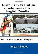 Learning Easy Haitian Creole from a Basic English Wordlist