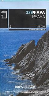 Ψαρά - Πεζοπορικός χάρτης 1:15000