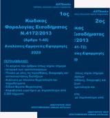 Κώδικας φορολογίας εισοδήματος Ν. 4172/2013 2020, , , Astbooks, 2020