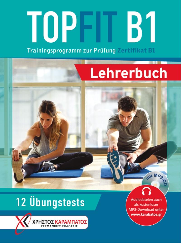 TOPFIT B1 - Lehrerbuch mit MP3-CD