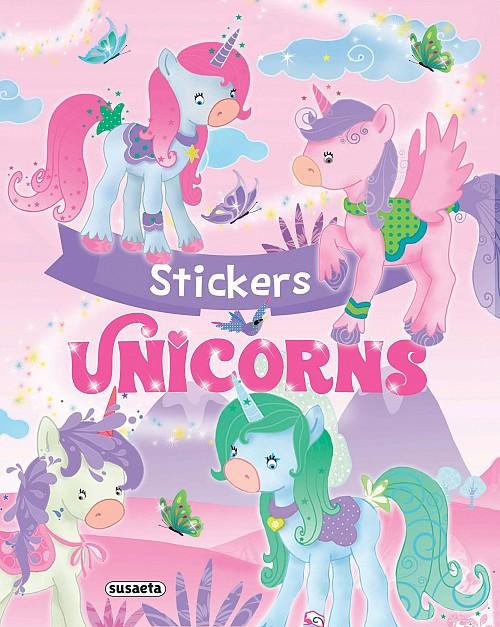 Unicorns stickers, , , Susaeta, 2020