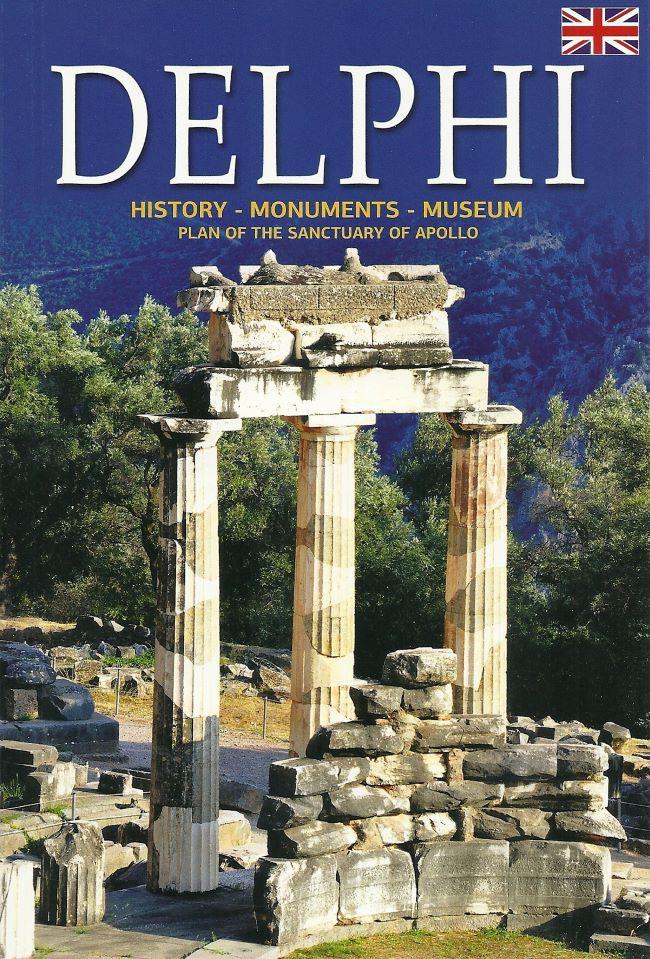 Delphi, History - Monuments - Museum, Δρόσου - Παναγιώτου, Νίκη, Παπαδήμας Εκδοτική, 2015